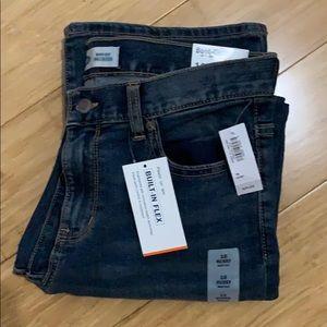 NWT Old Navy Boys husky bootcut jeans